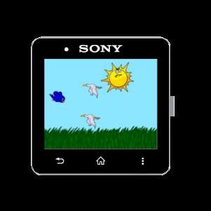 FloppyBird for SmartWatch2 1.0 screenshot 2