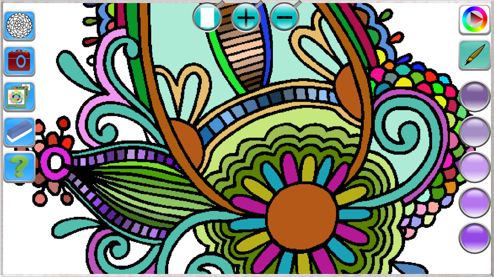 Abstract Coloring For Adults 180 Screenshot 2