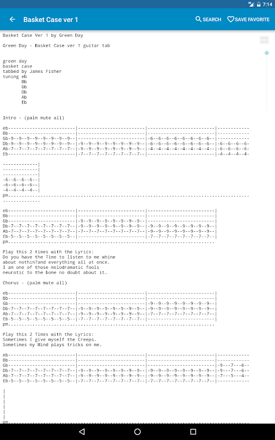 Achording Guitar Tabs Chords 356 Apk Download Android Music