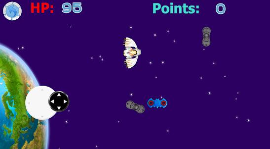 Destroy spinner: SPACE DEFENCE 1.0 screenshot 1