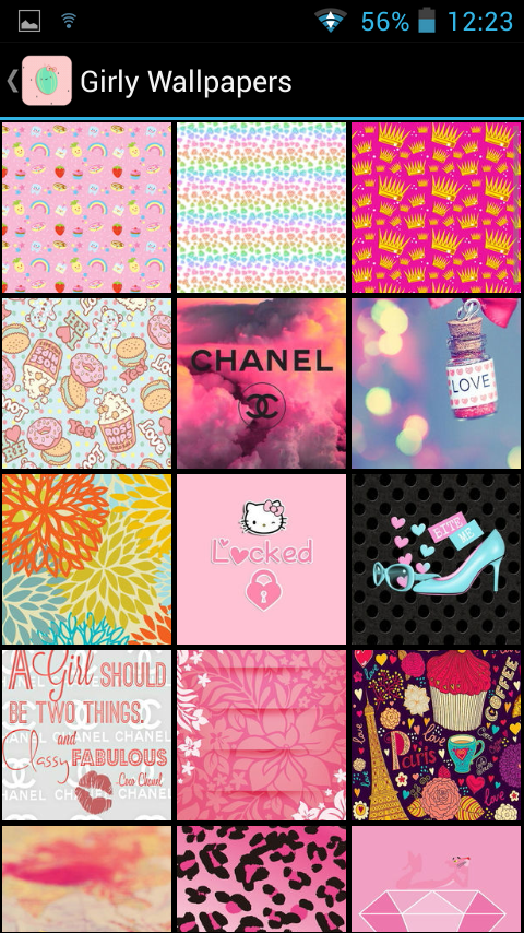 Girly Wallpapers 4 0 APK Download - Android Personalization Apps