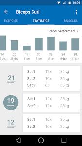 Healthy Gym 7.0.3 screenshot 4