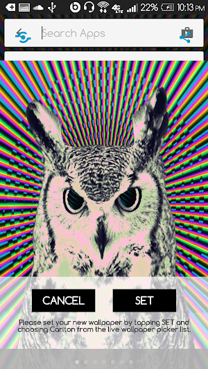 Trippy Wallpaper Live Owl 10 Apk Download Android