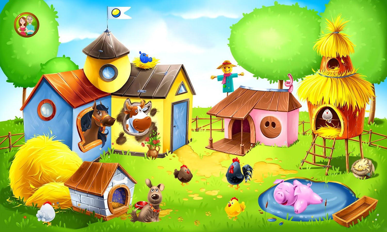 Animal Farm for Kids - Learn Animals for Toddlers 1.1.26 APK ...