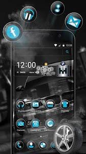 Black BMW Theme 1.1.11 screenshot 1