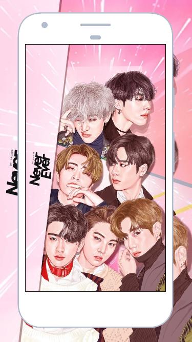GOT7 Wallpapers Kpop HD 10 Screenshot 1