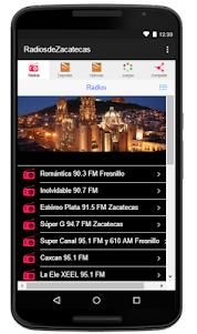 Radios de Zacatecas 1.0 screenshot 1