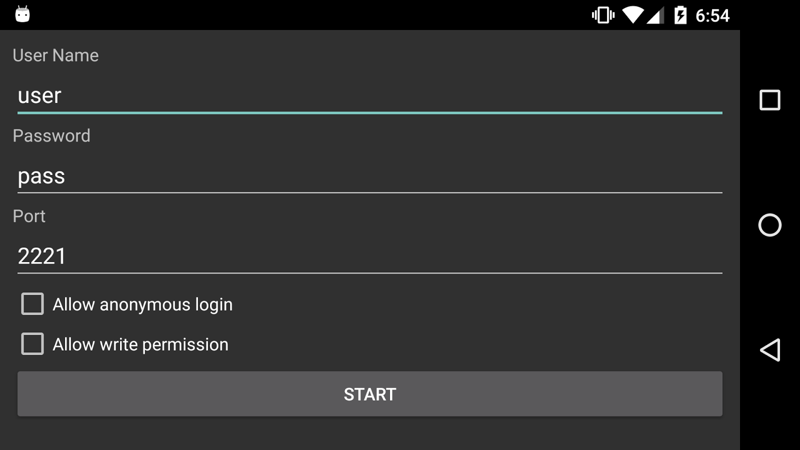FTP Server for Android TV 1 0 1 APK Download - Android Tools Apps