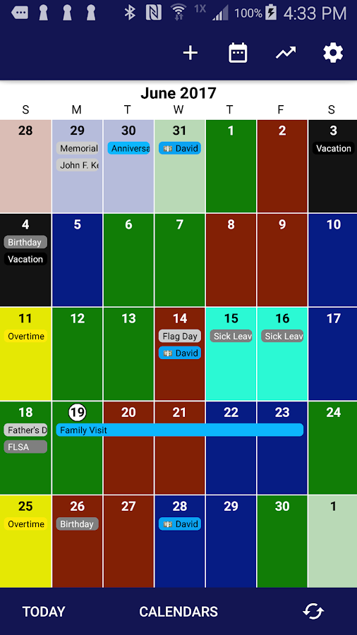 Spark - Shift Calendar 4 2 4-production APK Download - Android