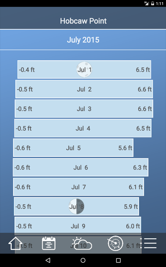 Tide Charts Free 213 Apk Download Android Weather Apps