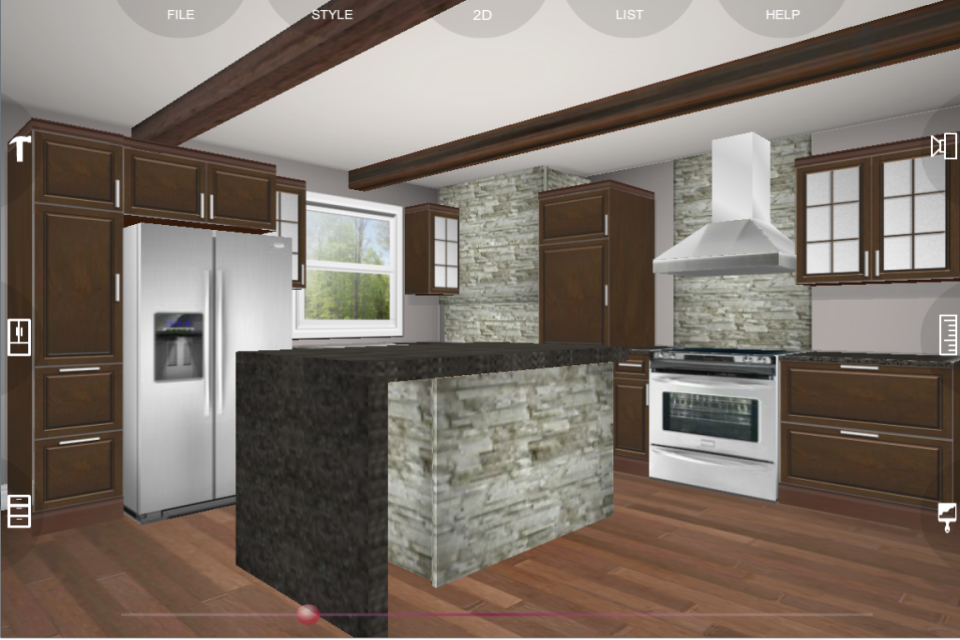 Eurostyle Kitchen 3D design 2.2.0 APK Download - Android Lifestyle Apps