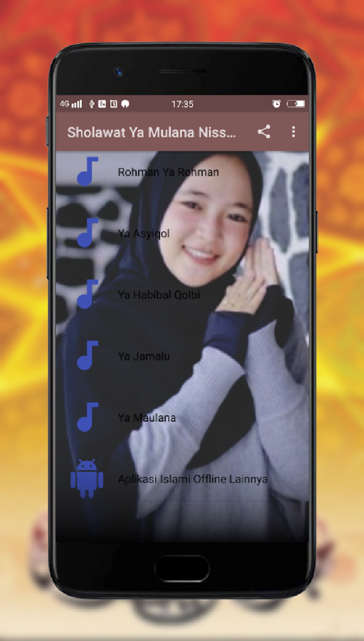 download mp3 sholawat ya maulana nissa sabyan