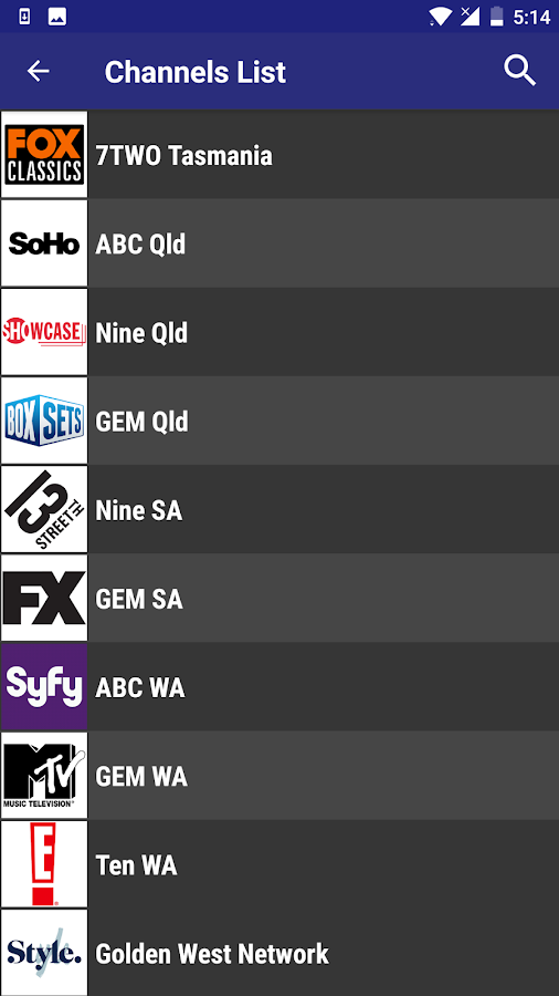 TV Australia - Free TV Guide 3 3 APK Download - Android