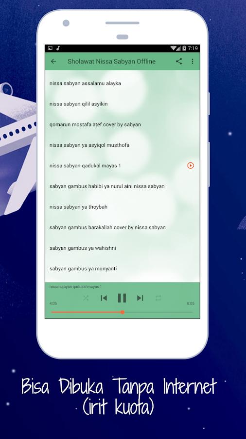 Sholawat Nissa Sabyan Offline 1 0 APK Download - Android