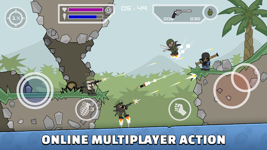 Mini Militia - Doodle Army 2 5.0.6 screenshot 1