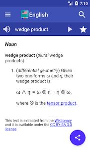 English Dictionary - Offline 4.1 screenshot 2