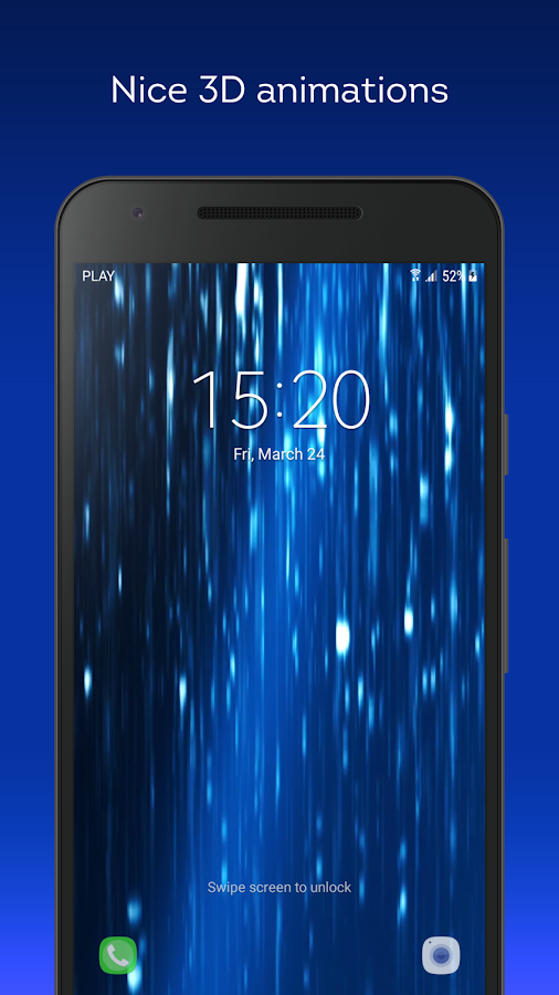 Glowing Rain Live Wallpaper 11 Apk Download Android