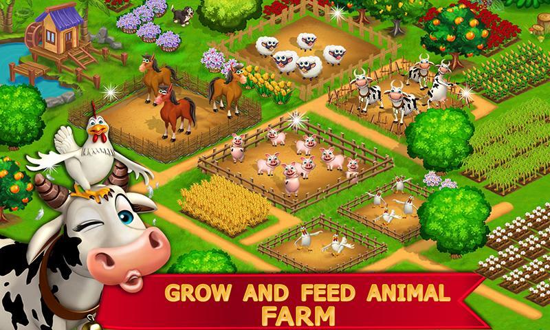My Farm Town Village Life best Farm Offline Game 1 1 2 APK
