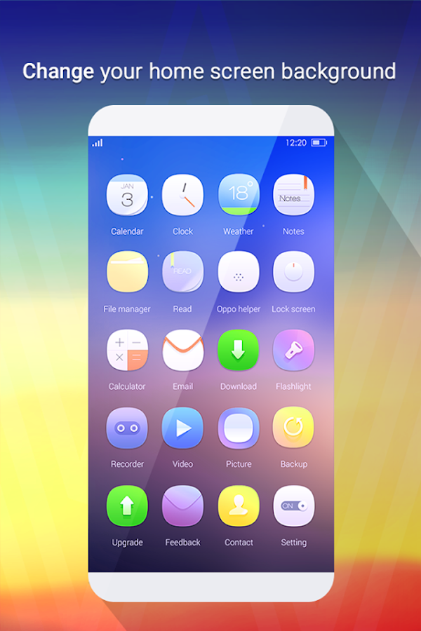 Launcher Theme for Oppo F7 plus hd wallpaper 1 0 7 APK Download