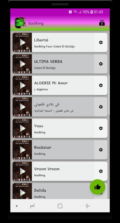 f0607b84c6b70 Soolking Liberté - Ouled El Bahdja sans internet 1.0.4 APK Download ...