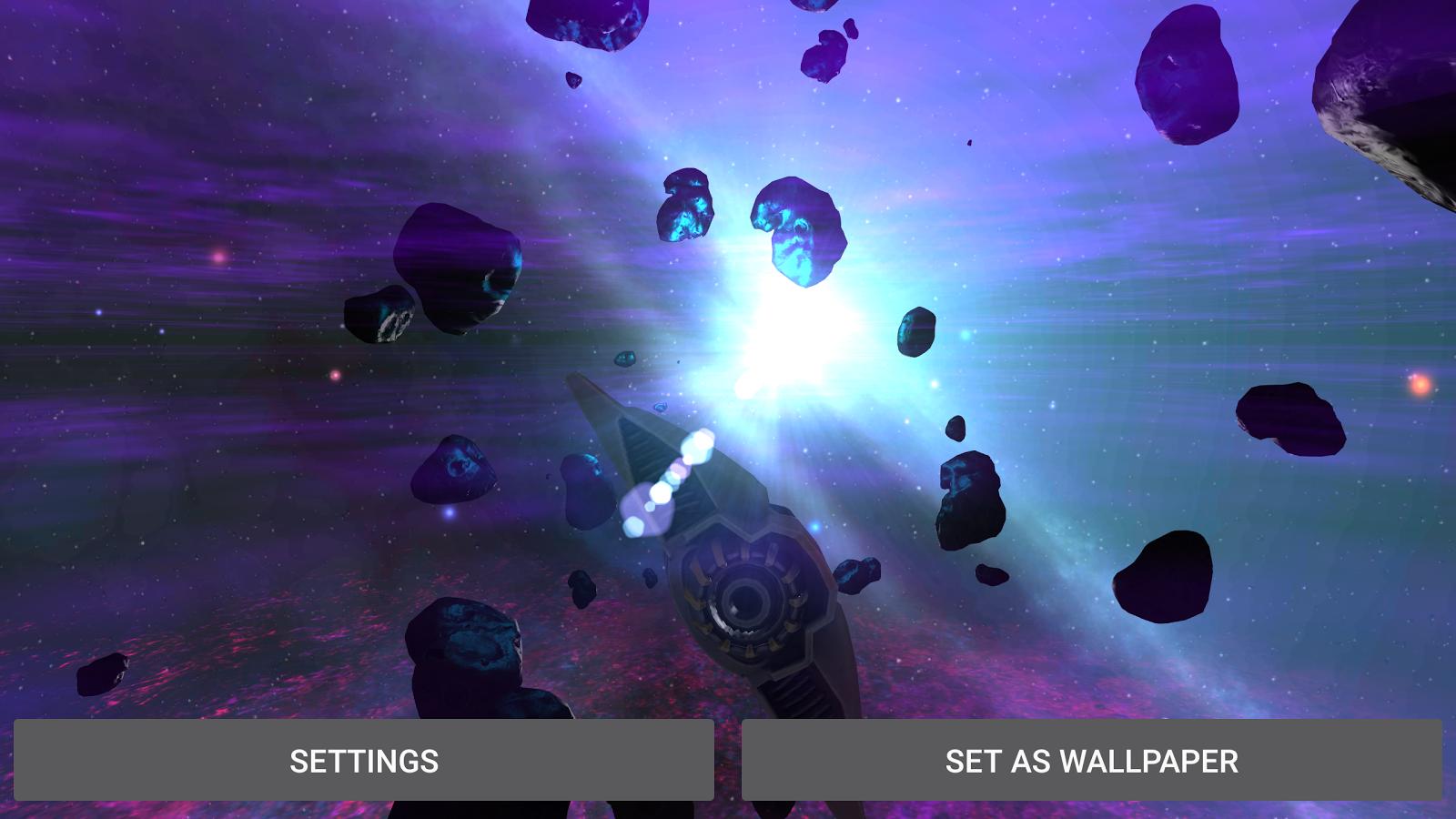AlienGalaxy Screenshot 9 Alien Galaxy 3D Live Wallpaper