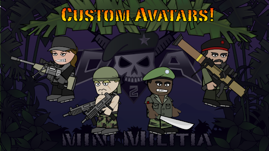 Doodle Army 2 : Mini Militia 5.3.7 screenshot 5