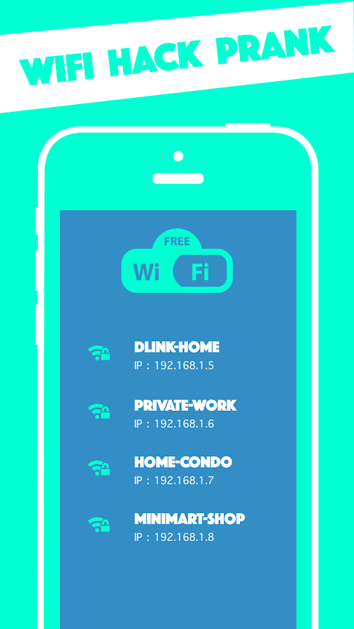 Wifi Hack Prank - Wps Wep Wpa 1.0 APK Download - Android ...