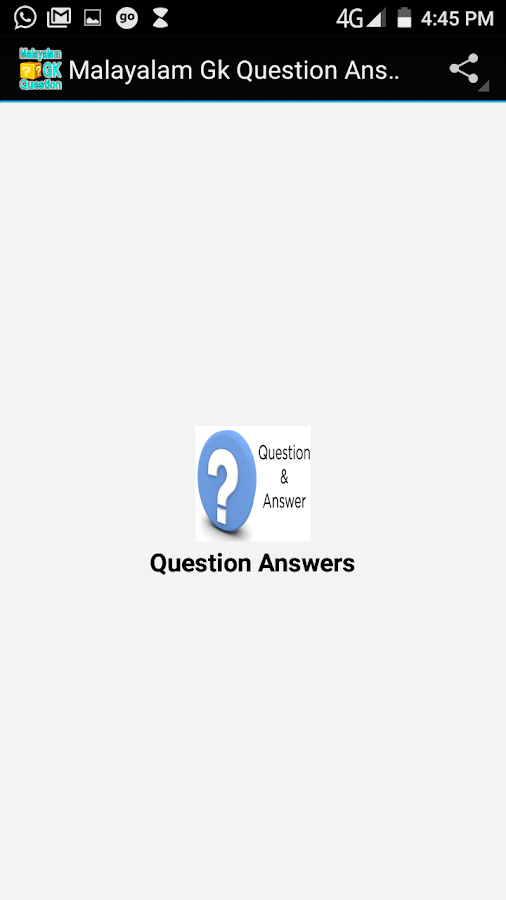 Malayalam Gk Question Answers 2 5 APK Download - Android Education Apps