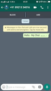 My Chat - Chat With Anybody In WhatsApp 2.5.7 screenshot 3