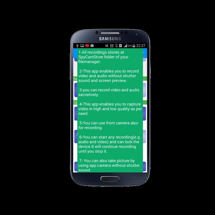 Spy Secret Camera Free 2 7 2 APK Download - Android