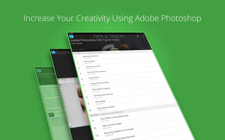 Udemy Photoshop CS5 Tutorials 1 9 APK Download - Android