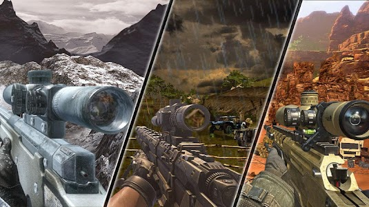 Mountain Sniper Shooting: 3D FPS 7.6 screenshot 2