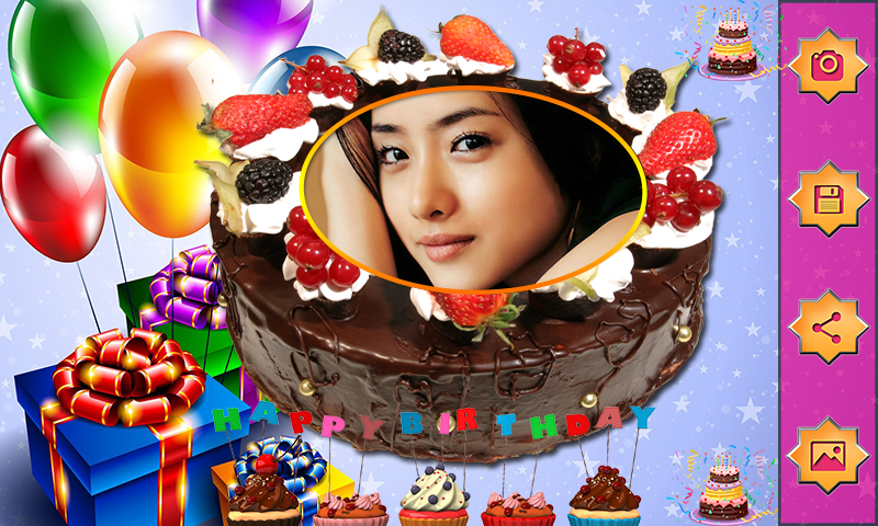 Name Photo On Birthday Cake Love Frames Editor 1 0 Apk Download