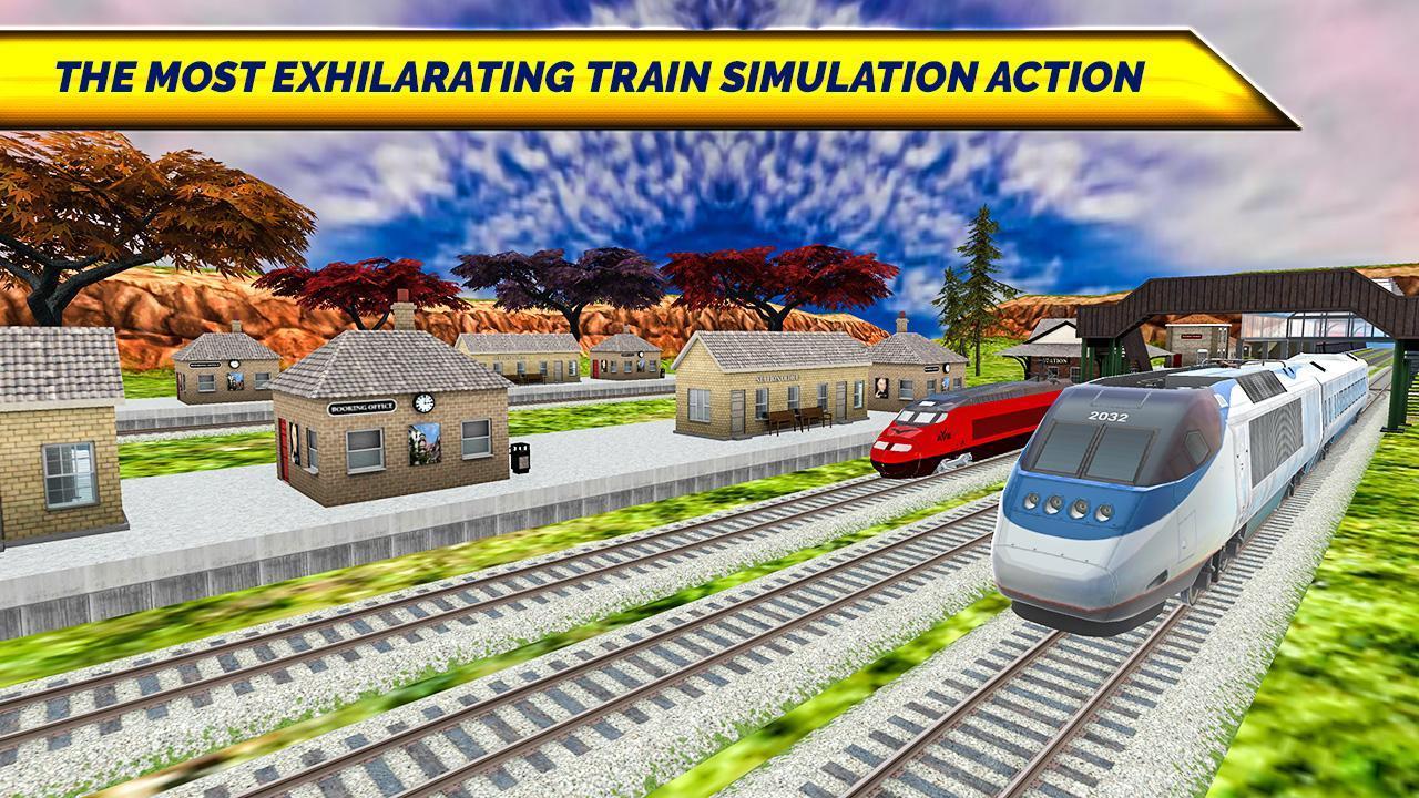 Train Simulator New 3D: Bullet Train Games 1 2 APK Download