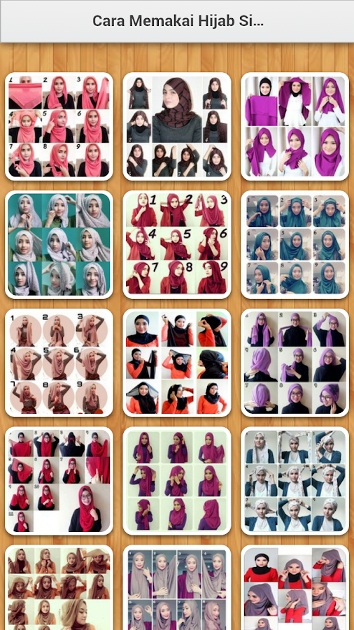 Tutorial Hijab 2018 Simple 1 3 APK Download - Android Lifestyle Apps