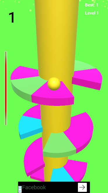 Ball Jump Tower Colors