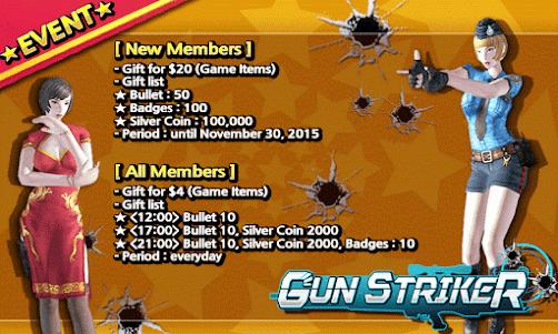 Gun Striker Plus+ 1.0.7 screenshot 1