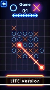 Tic Tac Toe glow - Free Puzzle Game 2.0 screenshot 4