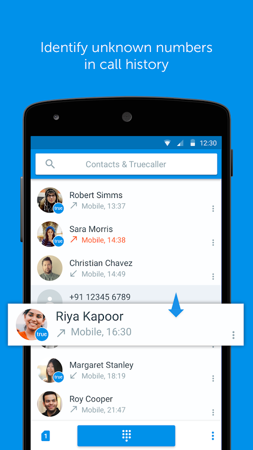 Truedialer - Phone & Contacts 3 65 APK Download - Android