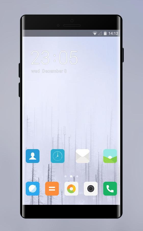 Theme For Xiaomi Redmi Note 5a Fog Wallpaper 100 Apk