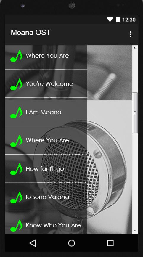 Top Five Moana Soundtrack Mp3 - Circus