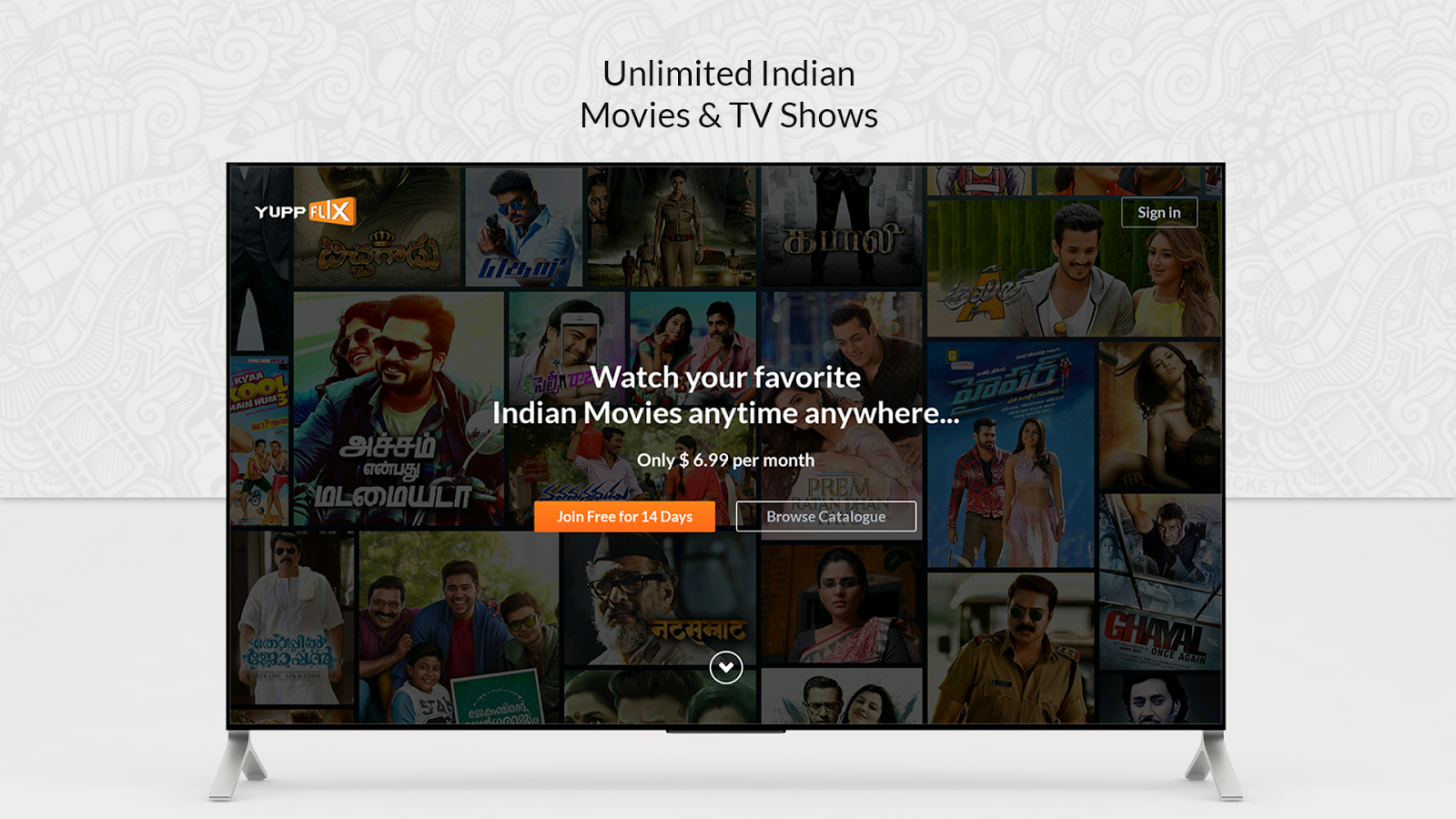 YuppFlix –Indian Movies and Shows for AndroidTV 1 0 3 APK