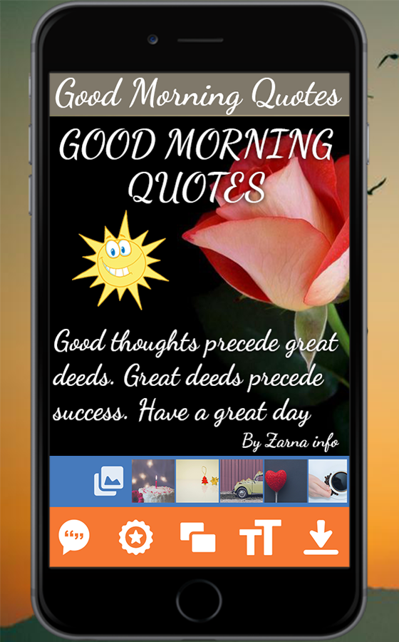 Good Morning Quote Maker 10 Apk Download Android Entertainment Apps