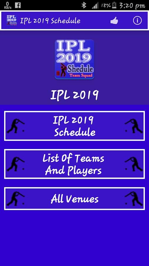 ipl 2019 schedule image download