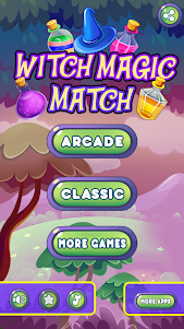 Witch Magic: Match 3 1.0.6 screenshot 1