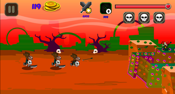 Monster Attack on Fort 1.4 screenshot 2