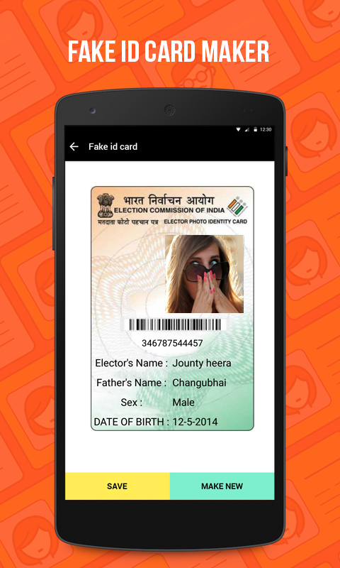 Android 1 - Download Apps Entertainment 0 Fake Maker Id Apk Card Voter