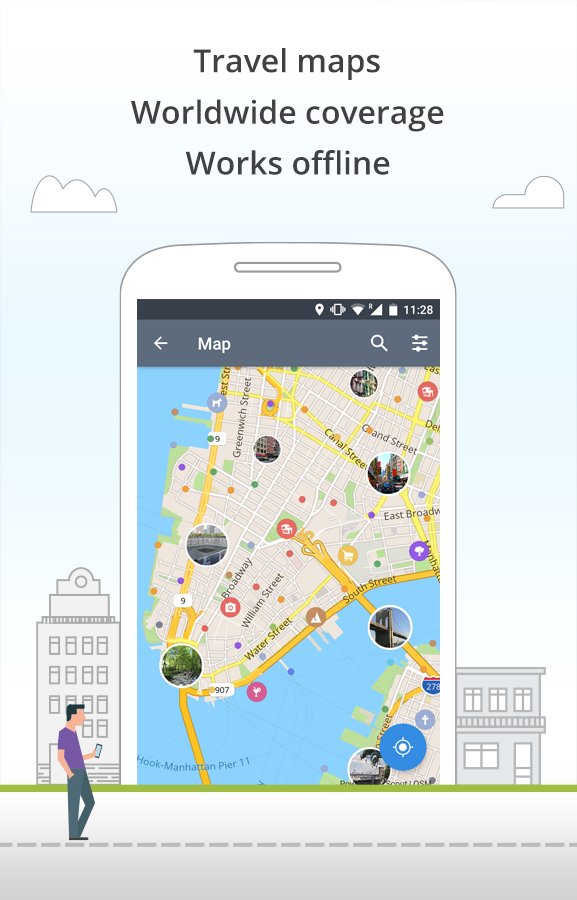 sygic offline map app