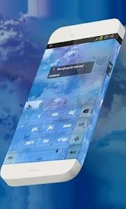 Dainty weather Keypad Theme 1.3 screenshot 4