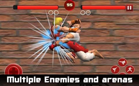 Karate Fighter - Taekwondo Kung fu Tiger Combat 3D  screenshot 4